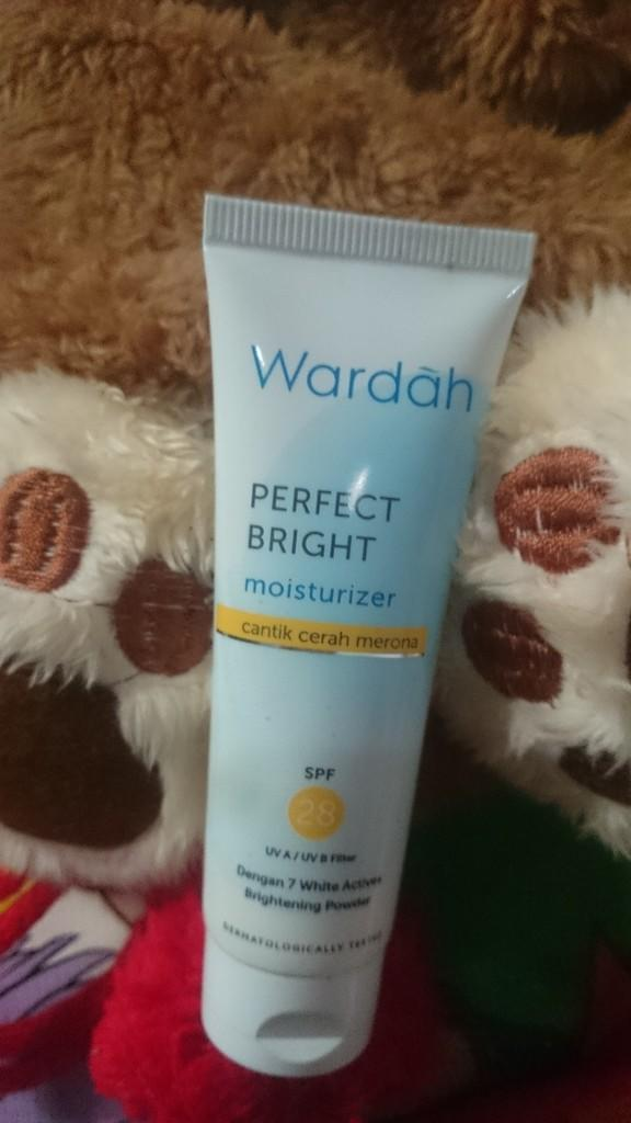 Review: Wardah Perfect Bright Moisturizer