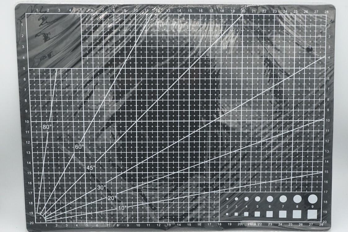 Jual A4 Pvc Self Healing Cutting Mat Craft Model Quilting Grid Lines Board Black Kaskus