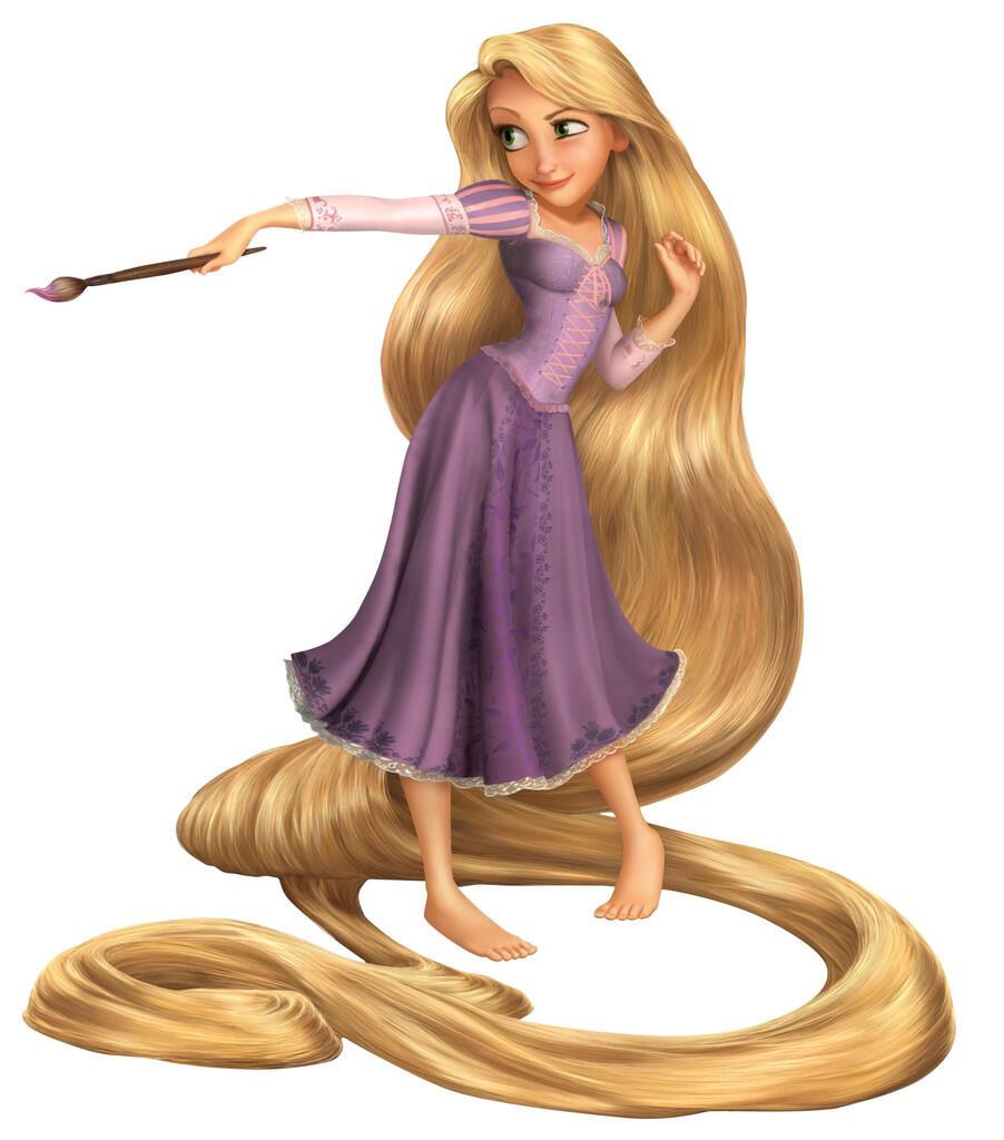 Alena, Pemilik Rambut Rapunzel yang Super Panjang!