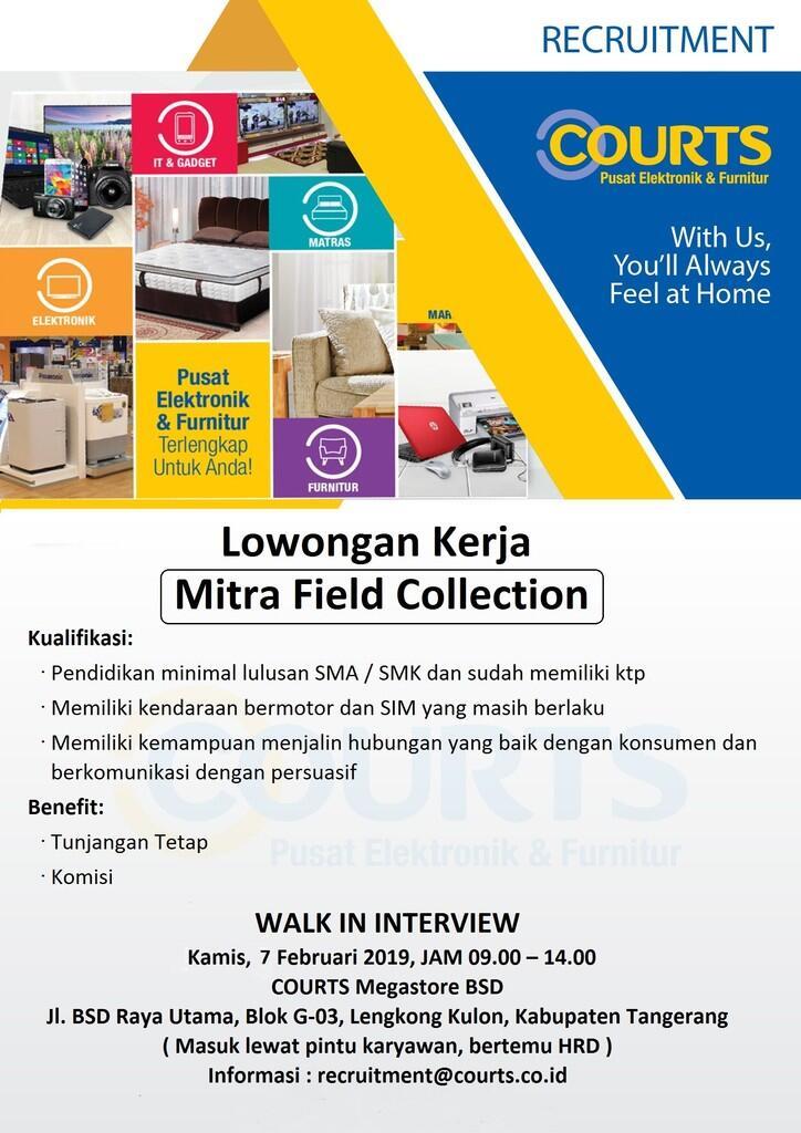 Lowongan Pekerjaan PT Courts Retail Indonesia | KASKUS