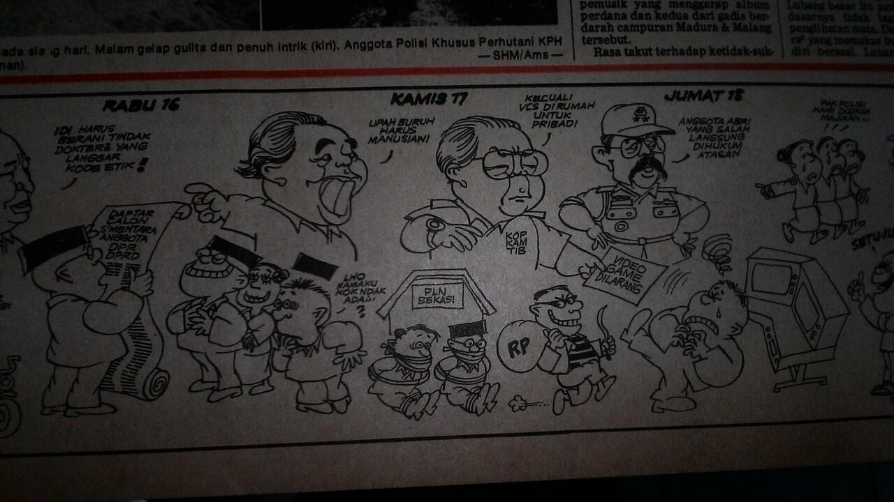 Orde Baru dan Video Game di Indonesia (1981-1987)
