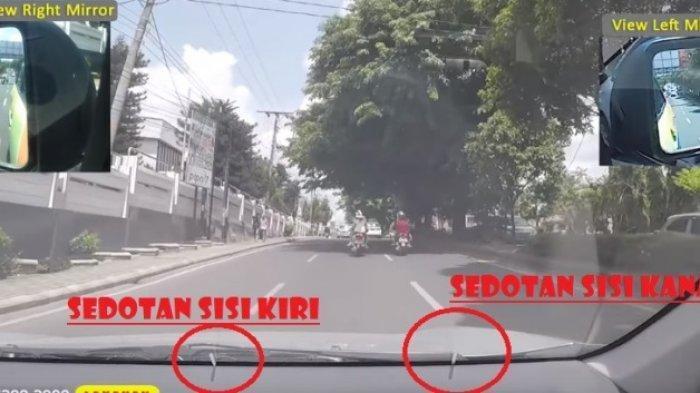 Pelatih Kursus Mengemudi Bocorkan Cara Ukur Bodi Kiri dan Kanan Mobil di Jalan Se..