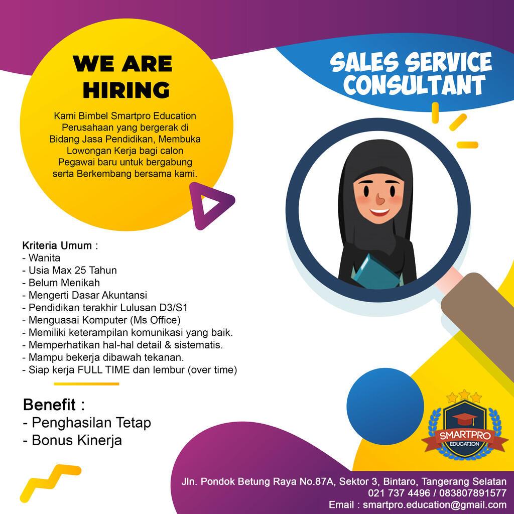 Lowongan Kerja Sales Service Consultan Ssc Kaskus