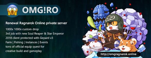 OMG! Ragnarok Online (FUN to Play Renewal Server)
