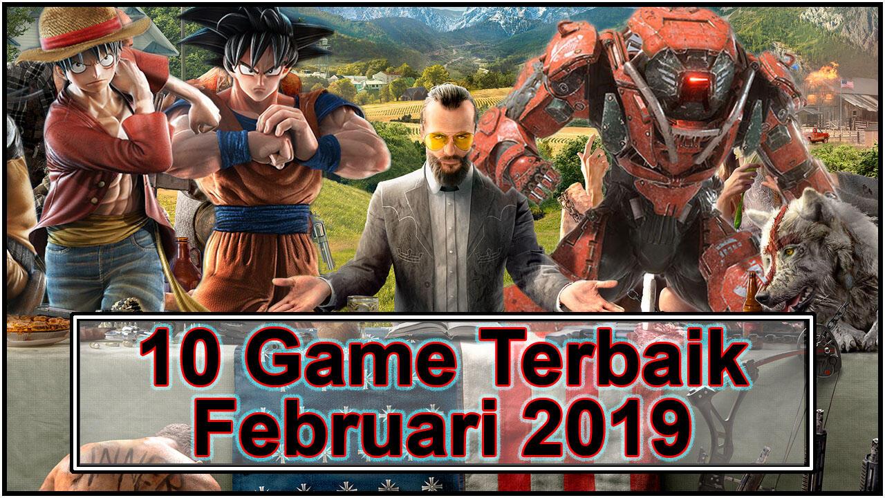 10 Game Terbaik Yang Rilis Di Bulan Februari 2019