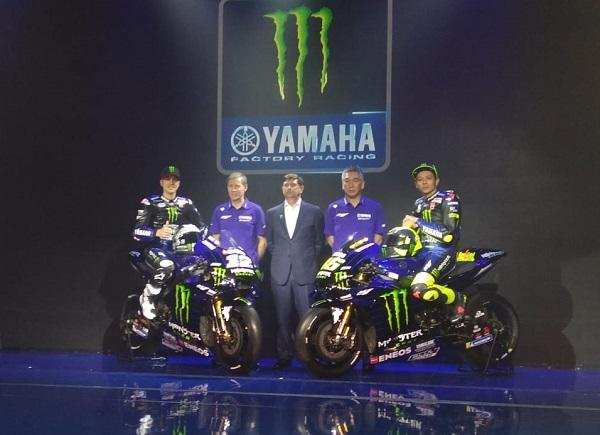 MOTOR Yamaha MONSTER Rossi-Maverick Pasang AKSI di JAKARTA