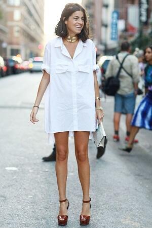 Baju Putih Juga Bisa Membuatmu Tampil Trendy Kok Sis!