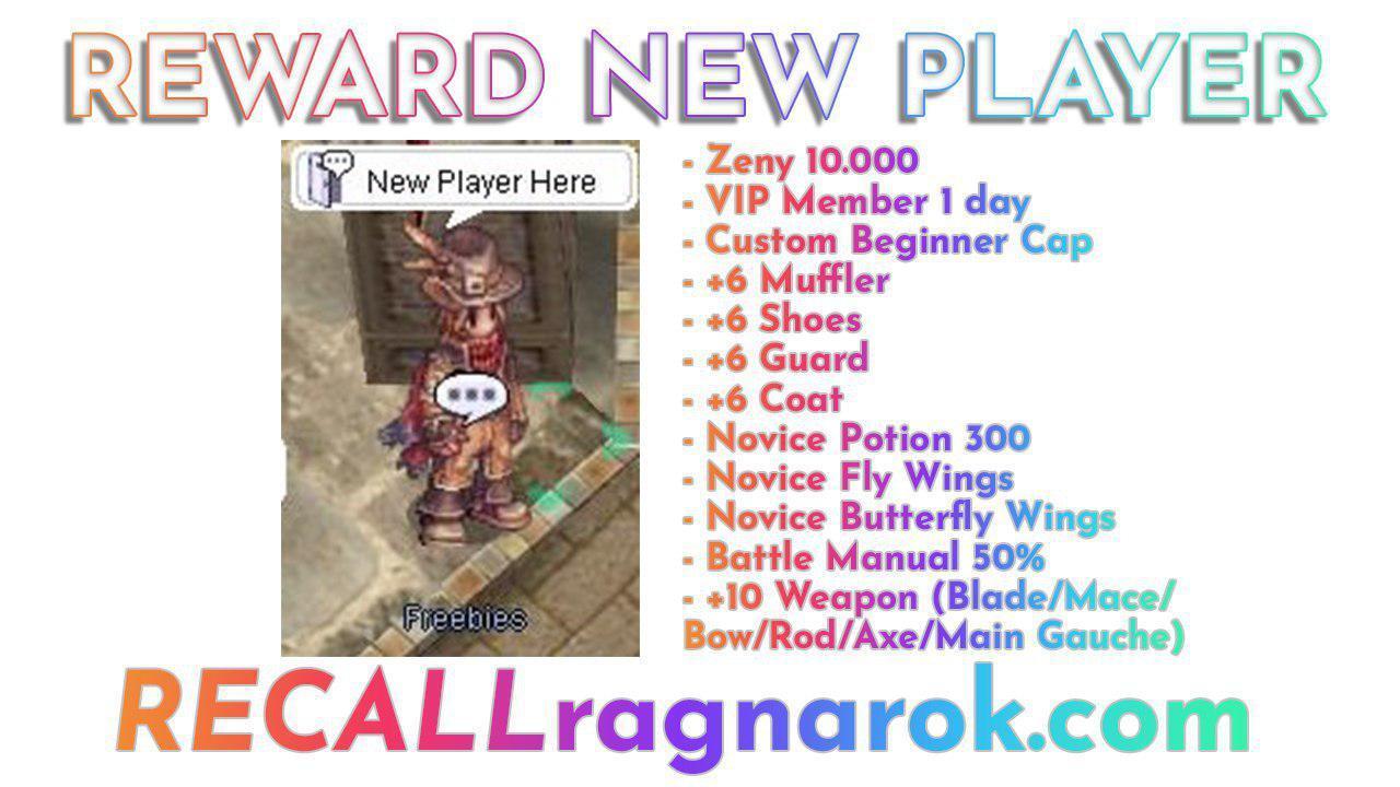 Recall Ragnarok Online | Mid-Low Rate | 99/70 Pre-Renewal | Play 2 Win !