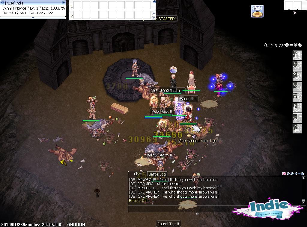Indie Ragnarok Private Server [ Renewal | 185/65 | Play to Play]