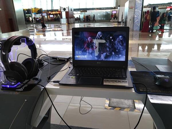 Di Bandara Soetta Sekarang Ada Tempat Gaming Gratis!