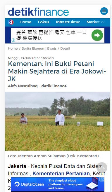 Petani Di Negara yang katanya Agraris