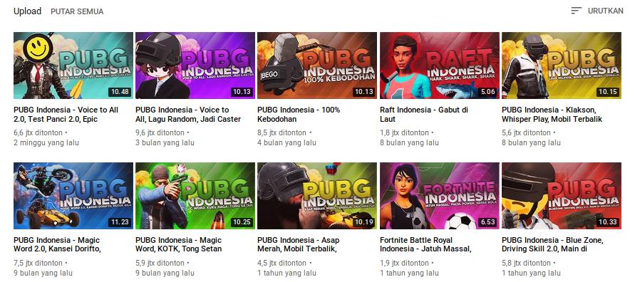 Menilai Konten Milyhya : Channel YouTube Gaming Paling Eksklusif