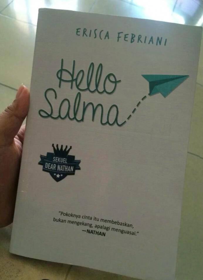 [Ulasan Buku] HELLO SALMA karya Erisca Febriani