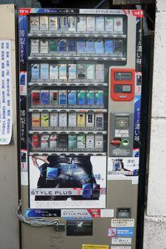 Kenapa Vending Machine di Jepang Bisa Banyak dan Unik-unik?