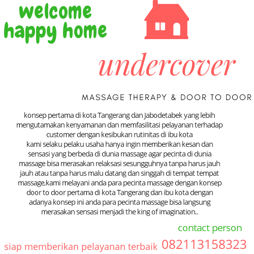 UnDeRCoVeR Massage Door To Door