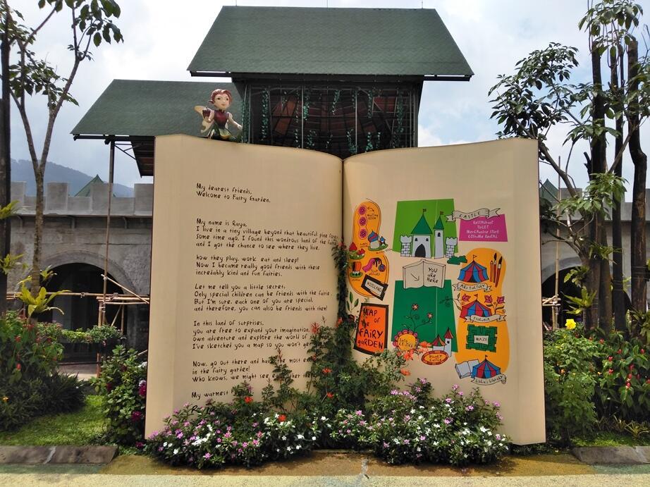 Ternyata Ada Kerajaan Peri dan Elf di Lembang Bandung, Boleh Dikunjungi Gan!