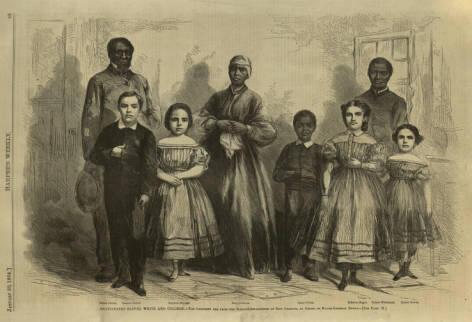 Mary Mildred Williams, Budak Kulit Putih di Amerika