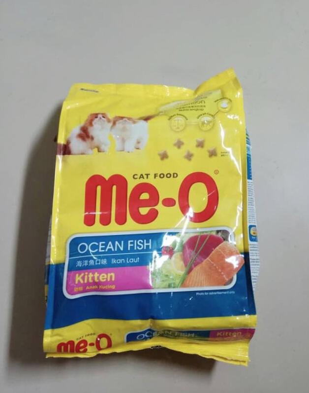 Review Makanan Kucing: Meo-O Kitten Ocean Fish
