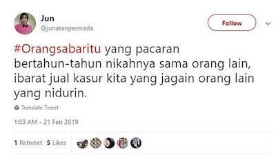 KOCAK!! 5 Pengertian Orang Sabar Itu Menurut Netizen Indonesia, Nomor 3 Bikin Miris
