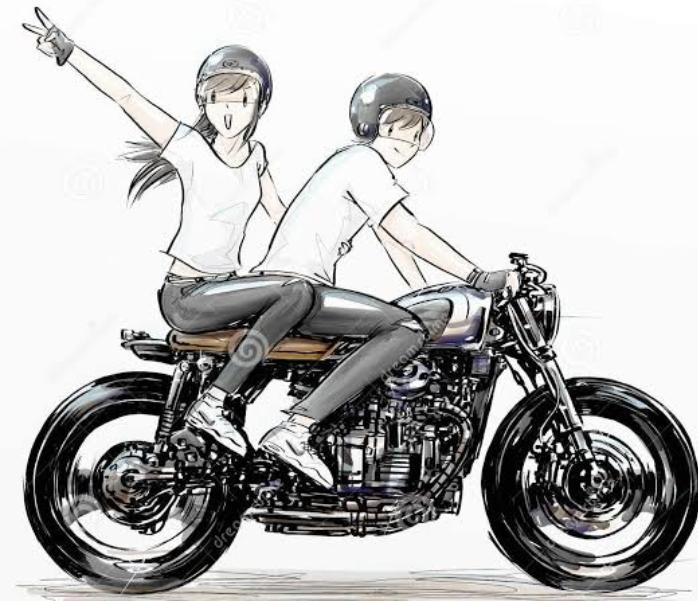 Nostalgia Yuk, Serunya Pacaran Sambil Motoran!!