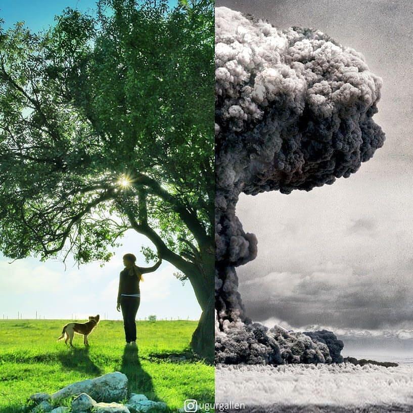 Potret-Potret yang Menunjukkan Betapa Kontrasnya Kejadian di Dunia Ini