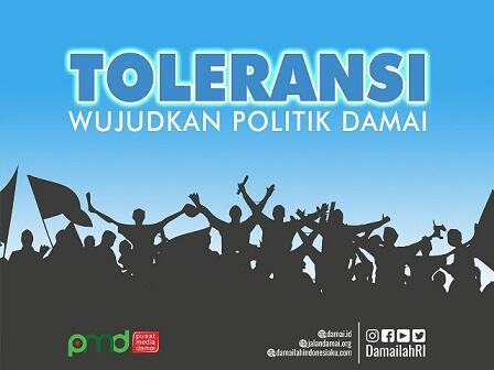 Mewujudkan Toleransi Dalam Perbedaan Pandangan Politik