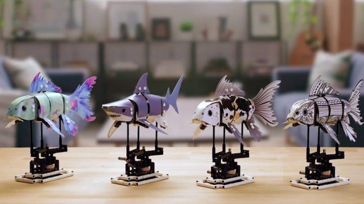 LEGO FORMA, Susunan Block Ikan Fleksibel yang Bisa Redakan Stress