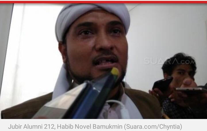 FPI Disebut di Survei LSI Denny JA, Habib Novel: Itu Lembaga Survei Pesanan