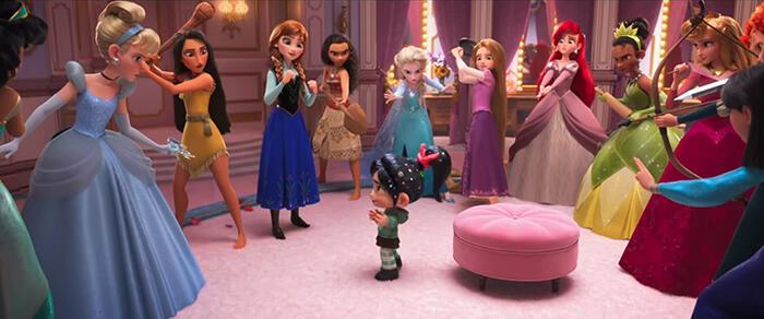 Style Jaman Now Para Putri Disney Ini Cantik Banget !