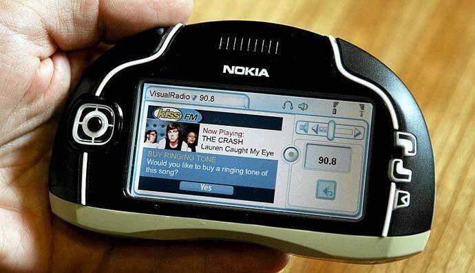 Penampakan Nokia 7700,Smartphone 'ANEH' Yang Dikira Tak Pernah Ada!