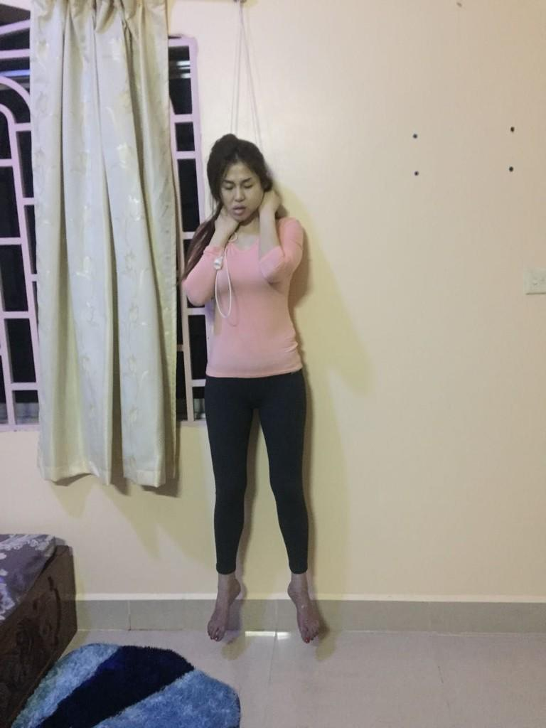 Sexy Cambodian Politician murdered and hanged to death