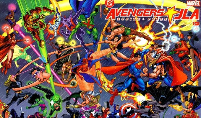 7 Crossover Komik Superhero yang Wajib Kalian Baca