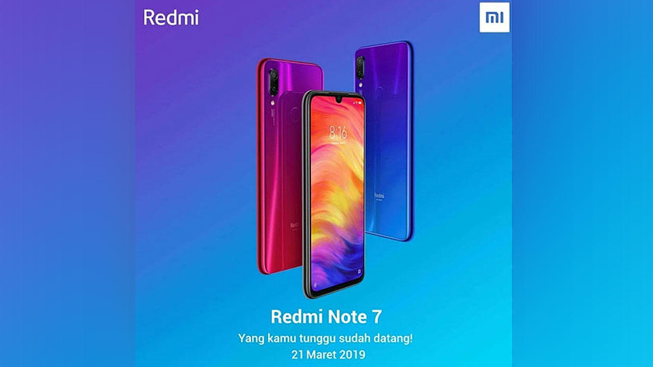 Hore! Redmi Note 7 Segera Masuk Indonesia