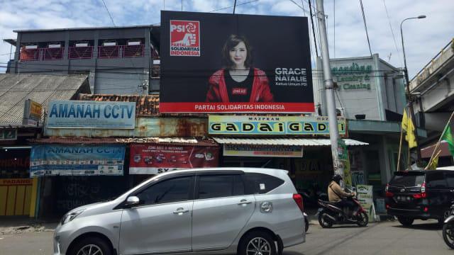Tak Ada Foto Jokowi-Ma'ruf di Kantor dan Baliho PSI di Sejumlah Daerah