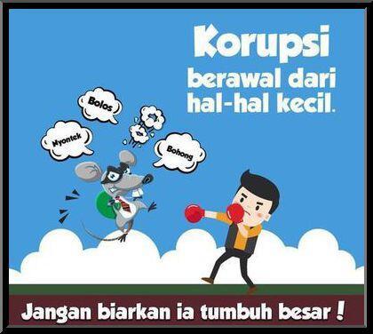Jadilah Mahasiswa Anti Korupsi