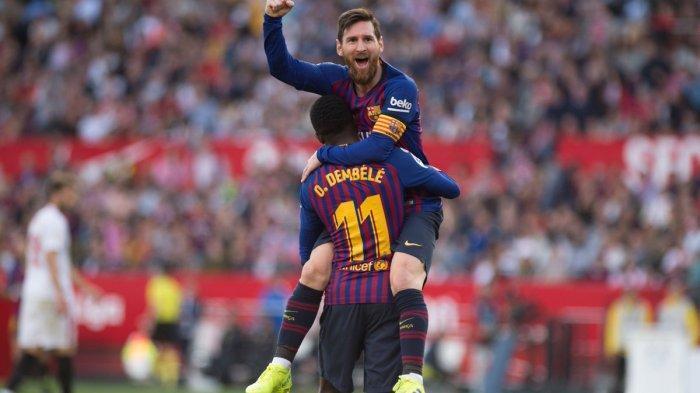 Susunan Pemain Barcelona Vs Olympique Lyon - Lionel Messi Pasti Cetak Minimal 1 Gol