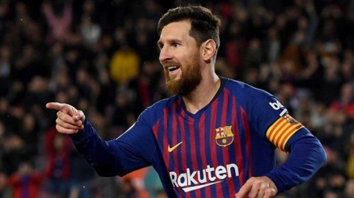 Habisi 2 Kiper Lyon, Messi Menggila, Barcelona Lolos Perempat Final