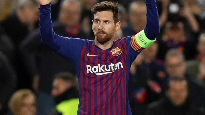 Hasil Liga Champions - Messi Cetak 2 Gol, Barcelona Gebuk Lyon dengan Skor 5-1