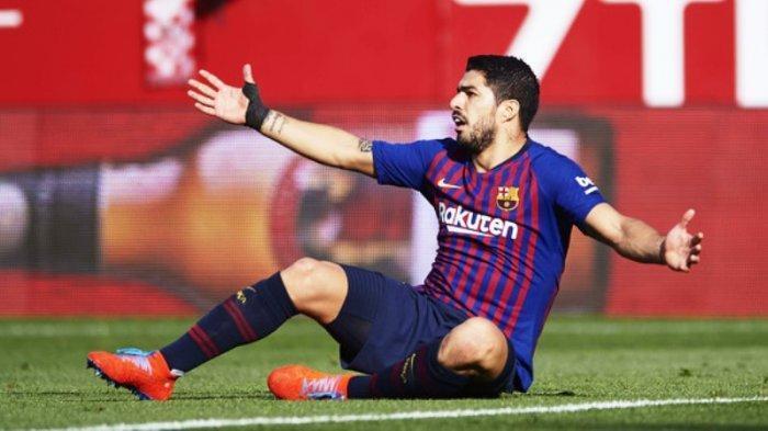 Luis Suarez Injak Pemain Justru Dapat Penalti: Itu Keputusan Wasit!