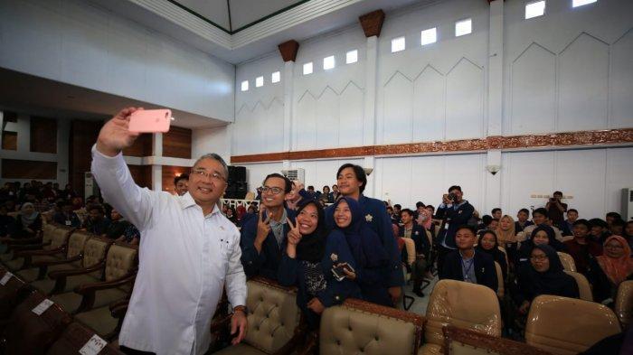 Mendes Eko Ajak Mahasiswa Turun ke Desa, Bangun Unicorn Baru