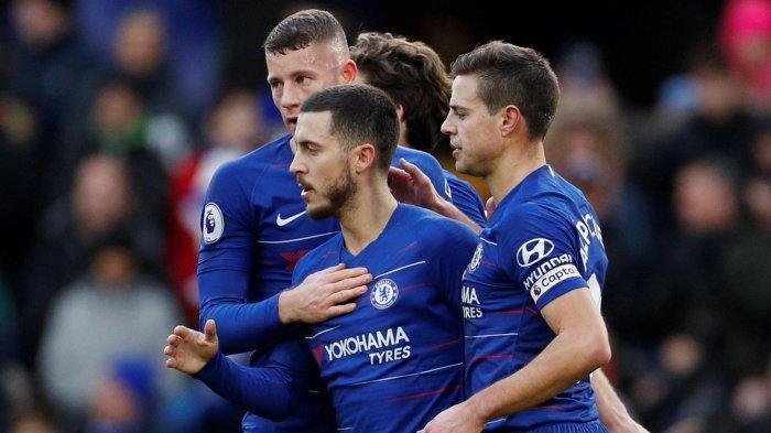 Pemain Chelsea Takut Ditinggal Eden Hazard ke Real Madrid