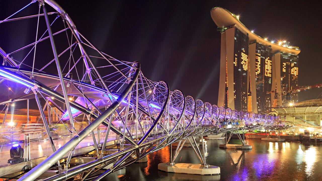 Helix Bridge Singapore, Jembatan DNA Pertama di Dunia | Saatnya Impian Jadi Nyata