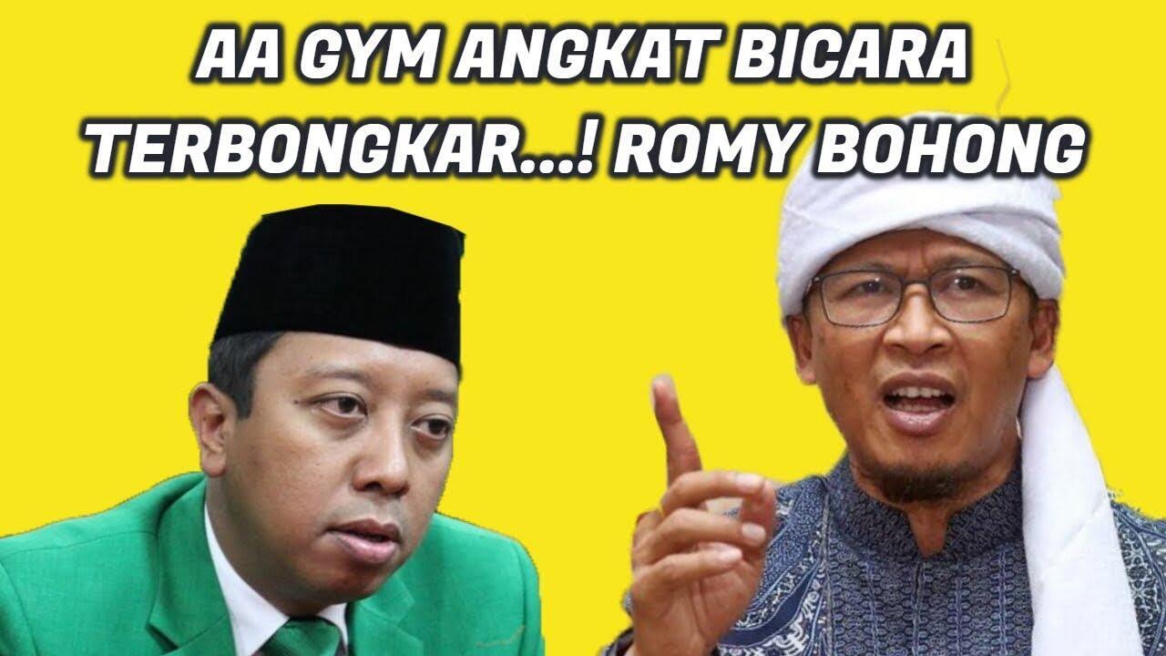 Aa Gym Bantah Rommy, Tegaskan Dirinya Punya Pilihan di Pilpres 2019