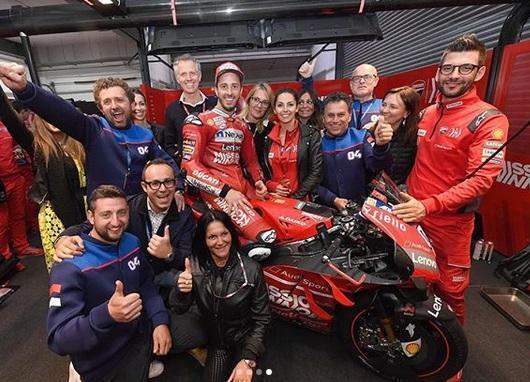 Juara MotoGP Qatar, Dovizioso Berharap Motornya Lebih Cepat di Argentina