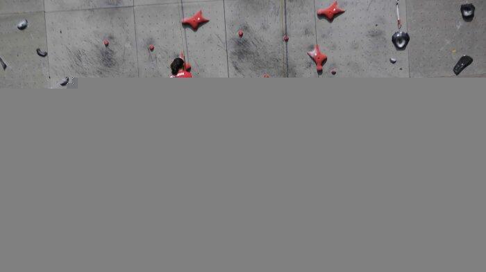 Simulasi Combined Putra Didominasi Atlet Pelatnas Panjat Tebing