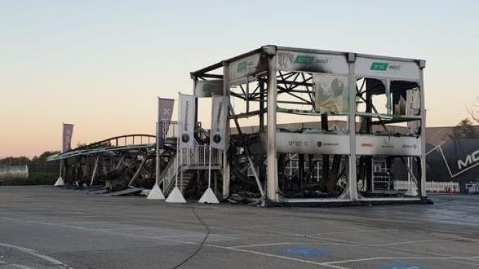 Kronologi Terbakarnya E-Paddock MotoE di Jerez Spanyol, Terbakar Saat Pengisian