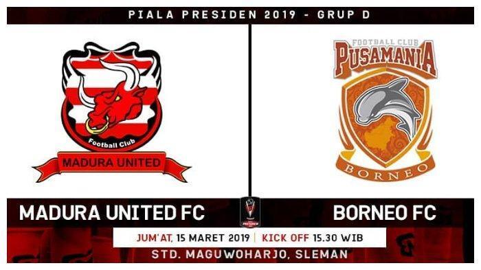 Borneo FC Berlaga Demi Harga Diri Saat Hadapi Madura United