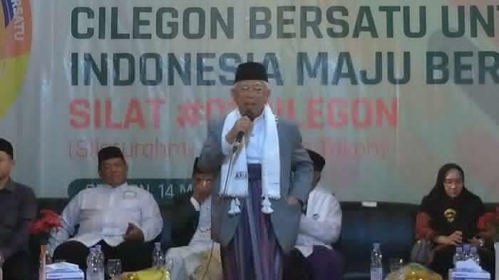 Ma'ruf Amin Sudah Dengar Kabar OTT Romahurmuziy
