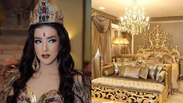 Intip Kamar YouTuber Tasya Farasya yang Bernuansa Emas Nan Glamour