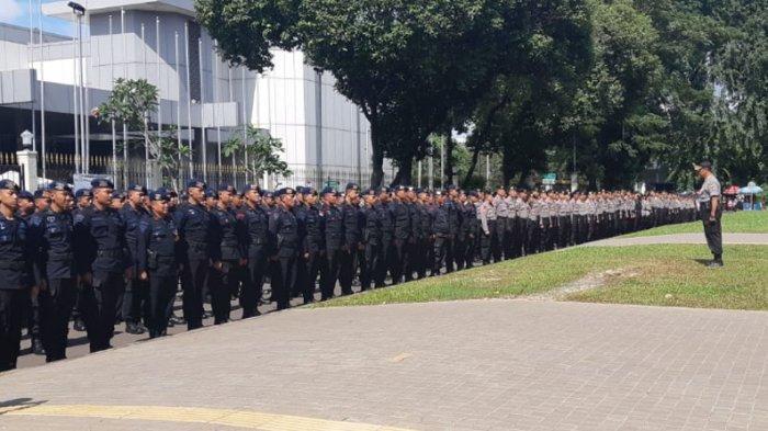 5.000 Pasukan Gabungan Diterjunkan untuk Amankan Debat Putaran Ketiga Pilpres
